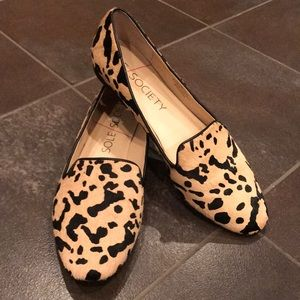 ⭐️Sole Society Leopard Loafers Slip Ons